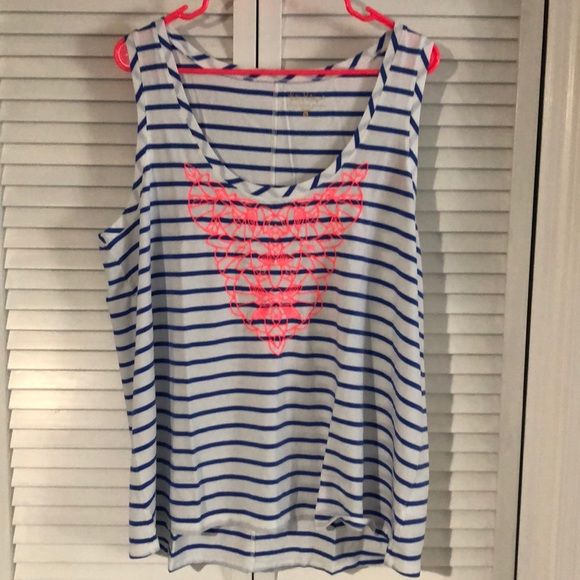 Lilly Pulitzer Tops - Nwt super cute Lilly Pulitzer Crayton Tank xl